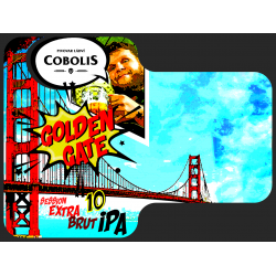 Golden Gate - Session Extra Brut IPA 10 objem PET 1 l