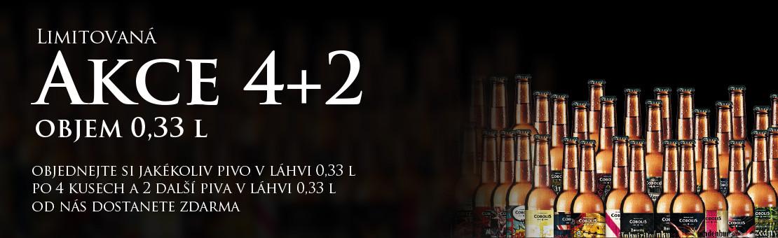 AKCE 4 + 2 0,33 l